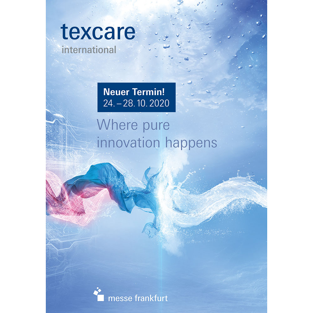 Texcare 2020 Keyvisual