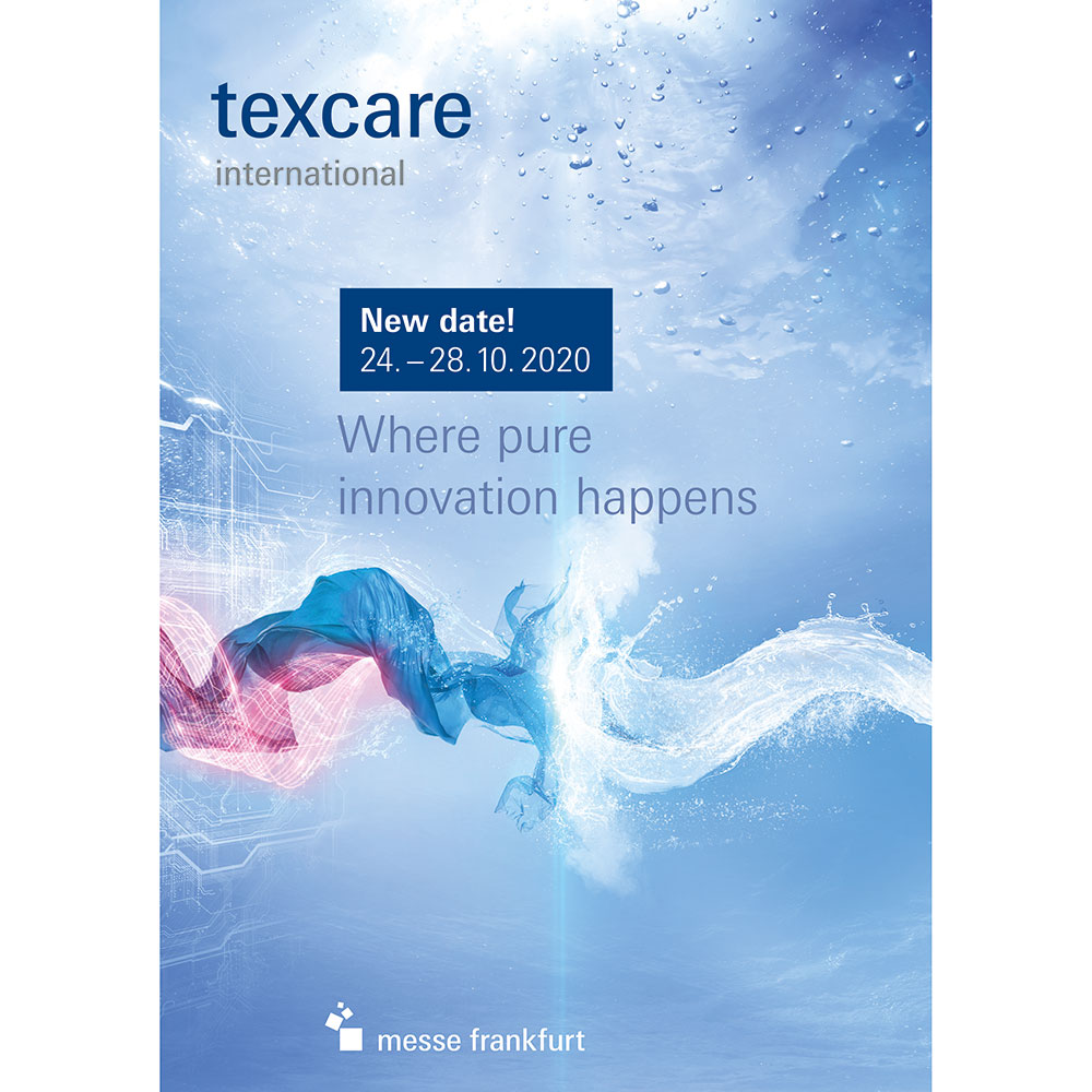 Texcare 2020 Keyvisual Englisch