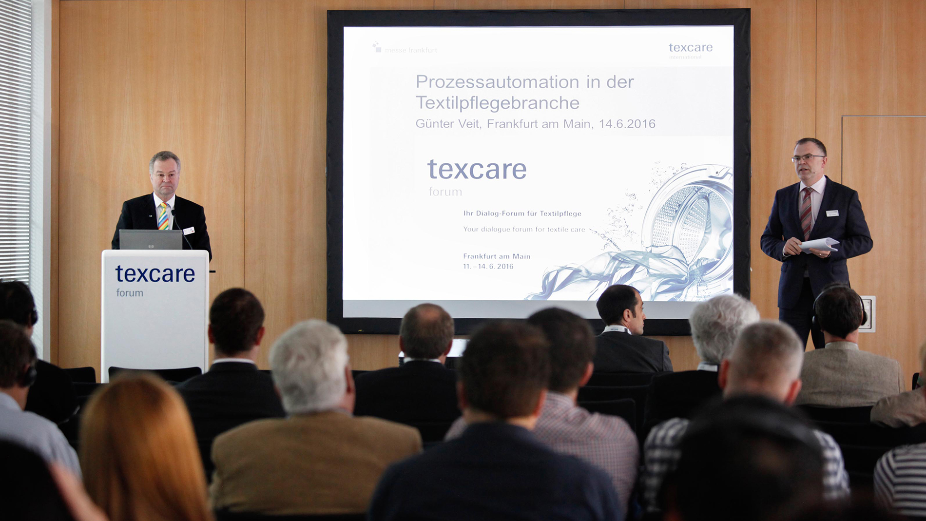 Participants of Texcare Forum