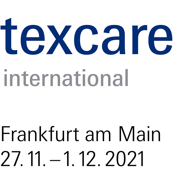 Texcare International Logo mit Datum 2021